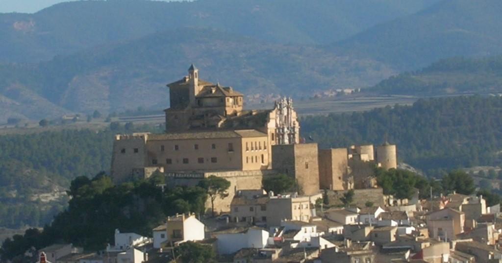 Caravaca_de_la_Cruz_Murcia_Espana_castillo_santuario_de_la_vera_cruz